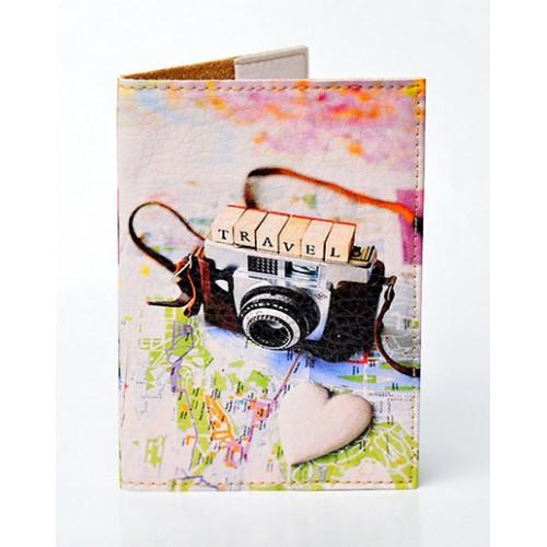 Покупка  Обложка для паспорта Travel photo в  Интернет-магазин Zelenaya Vorona™