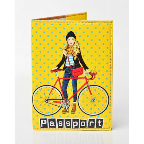 Покупка  Обложка для паспорта Городские прогулки в  Интернет-магазин Zelenaya Vorona™