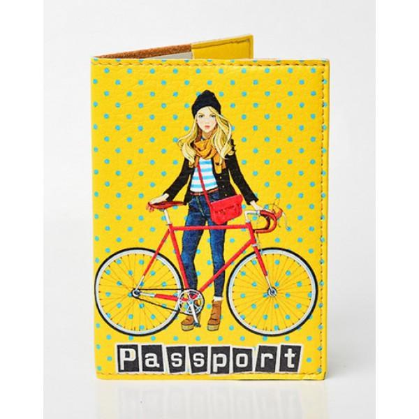 Обложка для паспорта Городские прогулки