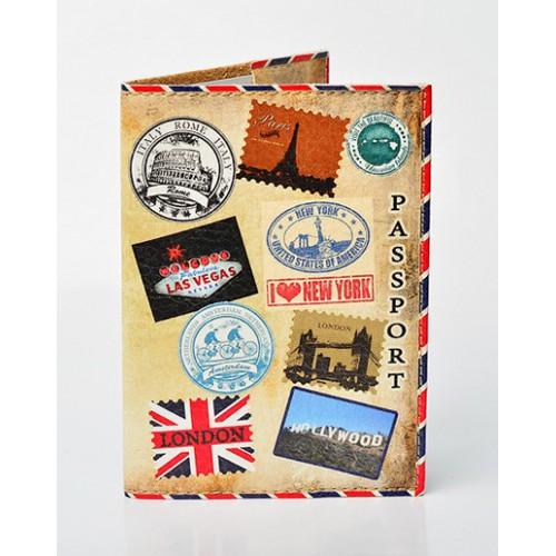 Покупка  Обложка для паспорта Штампы в  Интернет-магазин Zelenaya Vorona™