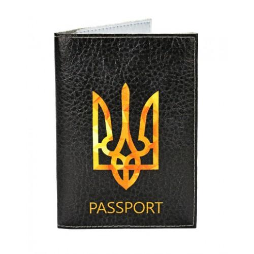 Покупка  Обложка для паспорта Герб Украины в  Интернет-магазин Zelenaya Vorona™