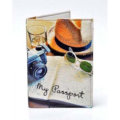 Покупка  Обложка для паспорта Вояж в  Интернет-магазин Zelenaya Vorona™
