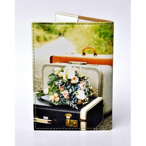 Обложка для паспорта Глобус  в  Интернет-магазин Zelenaya Vorona™ 1
