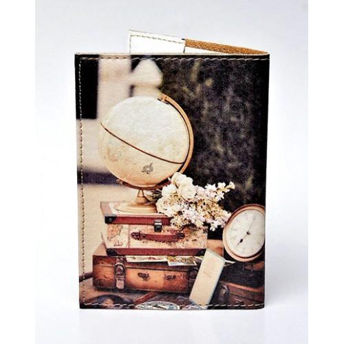 Обложка для паспорта Чемоданы  в  Интернет-магазин Zelenaya Vorona™ 1
