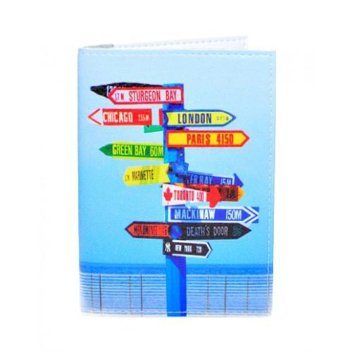 Покупка  Обложка для паспорта Нулевой километр в  Интернет-магазин Zelenaya Vorona™