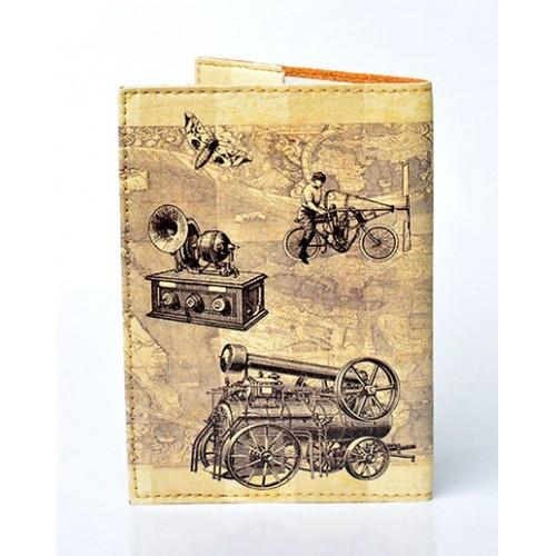 Обложка для паспорта Paris  в  Интернет-магазин Zelenaya Vorona™ 1
