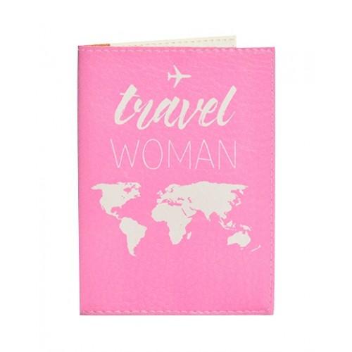 Покупка  Обложка для паспорта Travel Women в  Интернет-магазин Zelenaya Vorona™