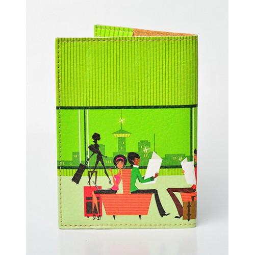 Обложка для паспорта Lady  в  Интернет-магазин Zelenaya Vorona™ 1