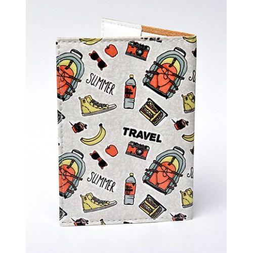 Обложка для паспорта Путешествие  в  Интернет-магазин Zelenaya Vorona™ 1