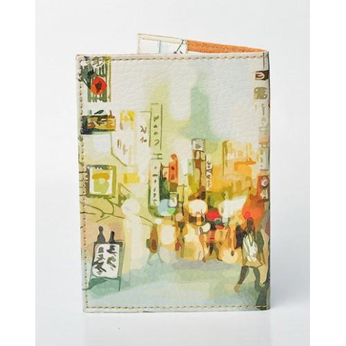 Обложка для паспорта City  в  Интернет-магазин Zelenaya Vorona™ 1