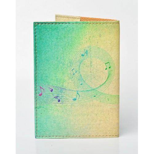 Обложка для паспорта Music  в  Интернет-магазин Zelenaya Vorona™ 1