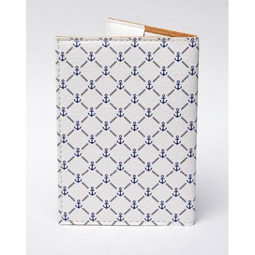 Обложка для паспорта Морская  в  Интернет-магазин Zelenaya Vorona™ 1