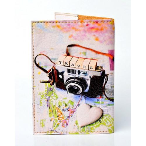 Обложка для паспорта Travel photo  в  Интернет-магазин Zelenaya Vorona™ 1