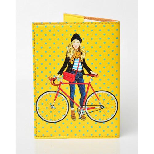 Обложка для паспорта Городские прогулки  в  Интернет-магазин Zelenaya Vorona™ 1