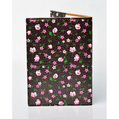 Обложка для паспорта Цветы  в  Интернет-магазин Zelenaya Vorona™ 1