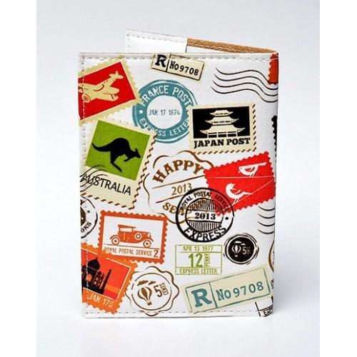 Обложка для паспорта Travel марки  в  Интернет-магазин Zelenaya Vorona™ 1