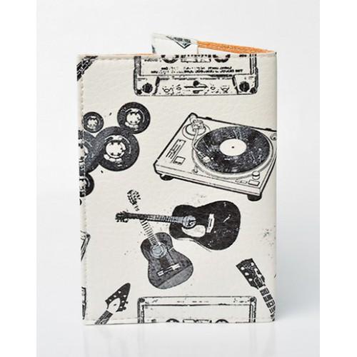 Обложка для паспорта Меломан  в  Интернет-магазин Zelenaya Vorona™ 1