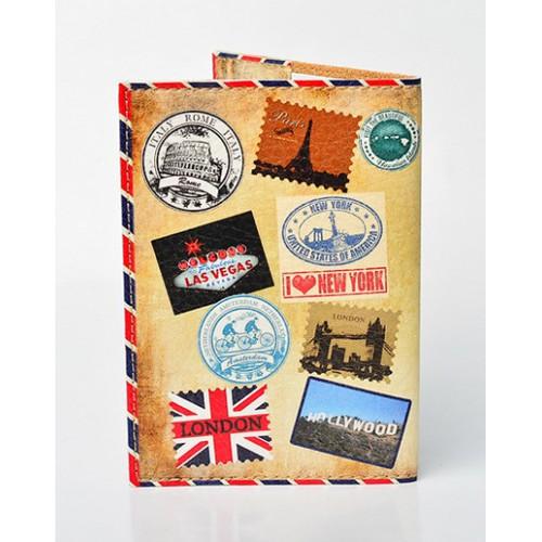 Обложка для паспорта Штампы  в  Интернет-магазин Zelenaya Vorona™ 1