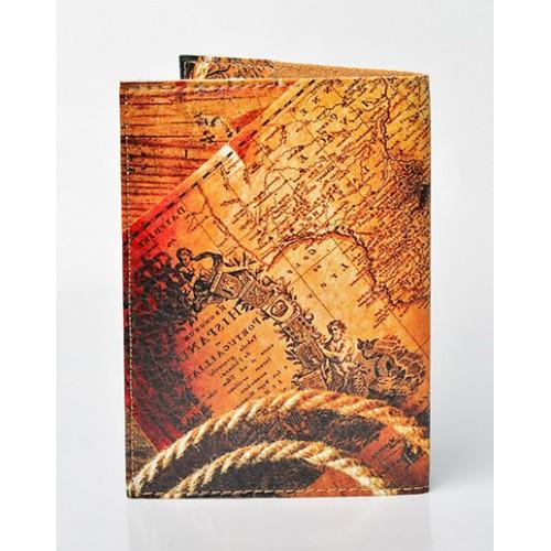 Обложка для паспорта Карта  в  Интернет-магазин Zelenaya Vorona™ 1