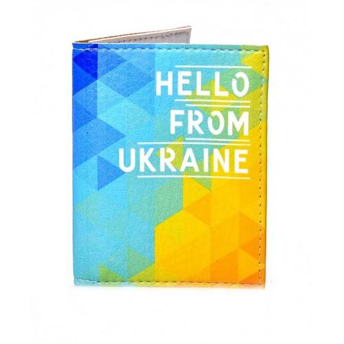 Покупка  Обложка на ID паспорт Hello from Ukraine в  Интернет-магазин Zelenaya Vorona™