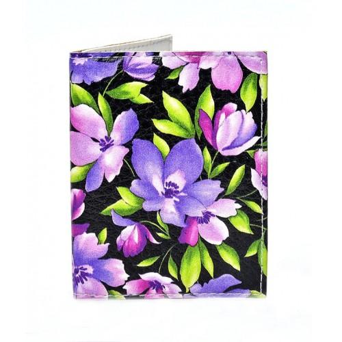 Покупка  Обложка на ID паспорт с цветами  в  Интернет-магазин Zelenaya Vorona™