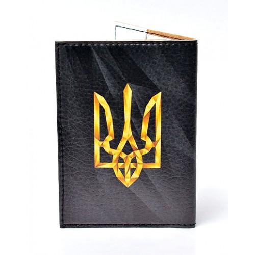 Обложка для паспорта Герб Украины  в  Интернет-магазин Zelenaya Vorona™ 1