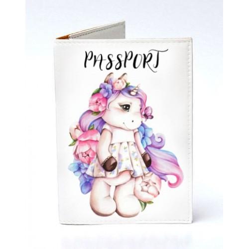 Покупка  Обложка для паспорта Единорог в  Интернет-магазин Zelenaya Vorona™
