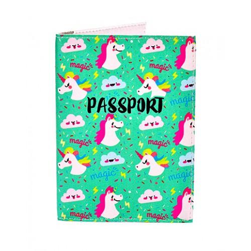 Покупка  Обложка для паспорта Единорожки в  Интернет-магазин Zelenaya Vorona™
