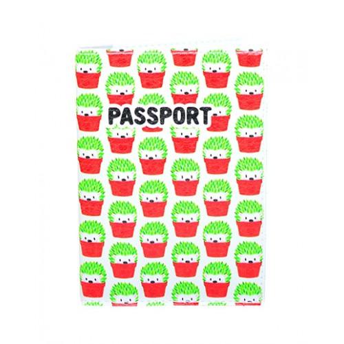 Покупка  Обложка для паспорта Ежики в  Интернет-магазин Zelenaya Vorona™