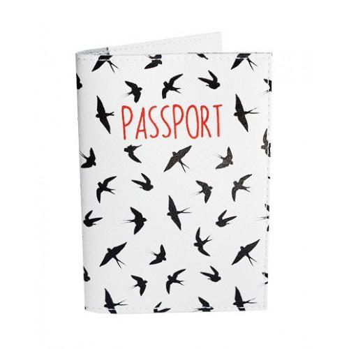 Покупка  Обложка для паспорта Ласточки в  Интернет-магазин Zelenaya Vorona™