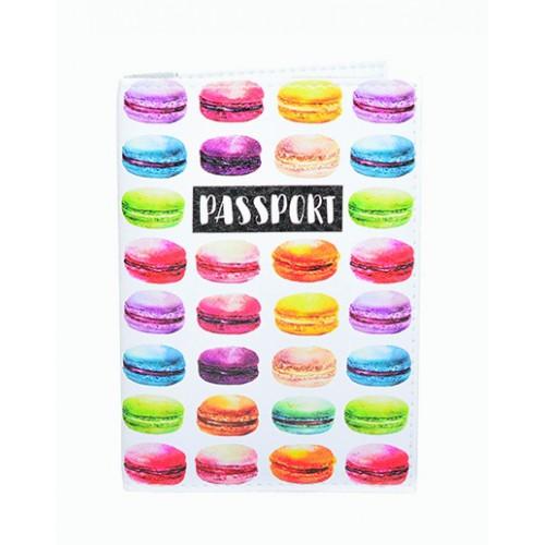 Покупка  Обложка для паспорта Макаруны в  Интернет-магазин Zelenaya Vorona™