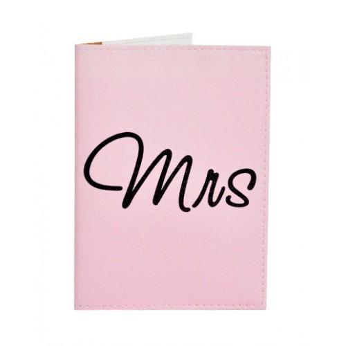 Покупка  Обложка для паспорта Mrs&Mr в  Интернет-магазин Zelenaya Vorona™