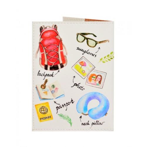 Обложка для паспорта Путешественнику  в  Интернет-магазин Zelenaya Vorona™ 1