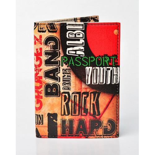 Покупка  Обложка для паспорта Rock band в  Интернет-магазин Zelenaya Vorona™