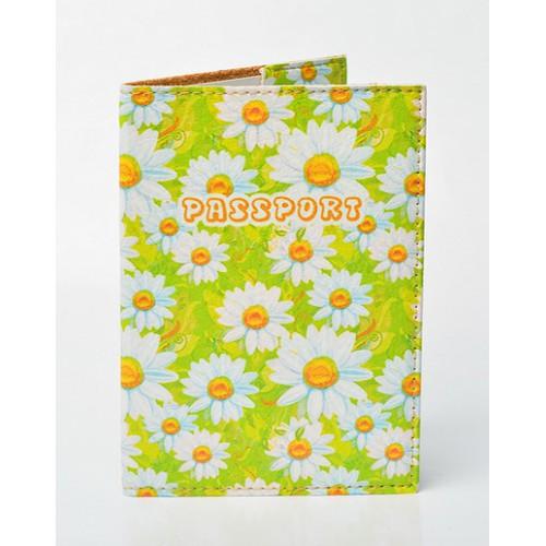 Покупка  Обложка для паспорта Ромашки в  Интернет-магазин Zelenaya Vorona™