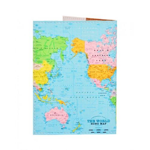 Обложка для паспорта The World  в  Интернет-магазин Zelenaya Vorona™ 1