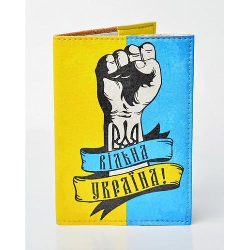Покупка  Обложка для паспорта Вільна Україна в  Интернет-магазин Zelenaya Vorona™