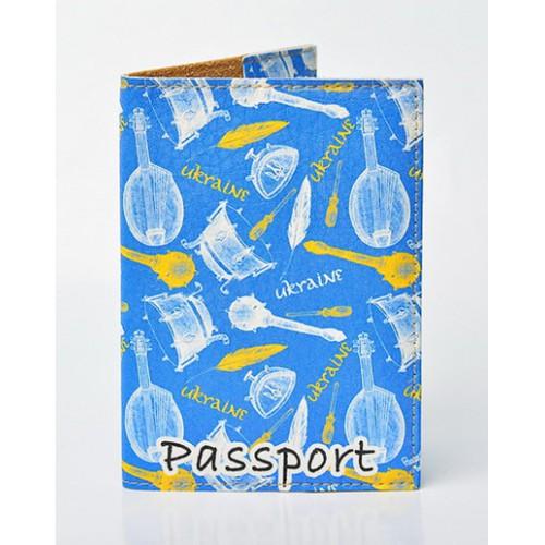 Покупка  Обложка для паспорта Булава и Бандура в  Интернет-магазин Zelenaya Vorona™