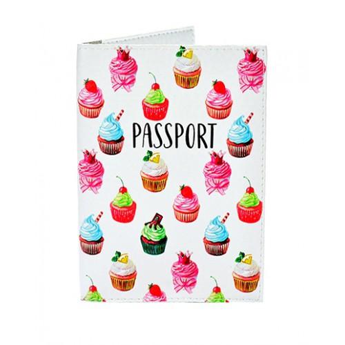 Покупка  Обложка для паспорта Кексики в  Интернет-магазин Zelenaya Vorona™