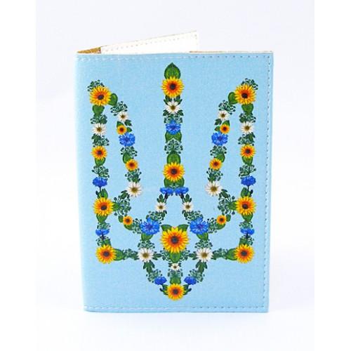 Покупка  Обложка для паспорта Цветочный Герб в  Интернет-магазин Zelenaya Vorona™