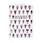 Обложка для паспорта Lol