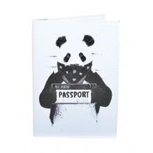 Обложка для паспорта Панда