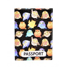 Обложка для паспорта Совы 2
