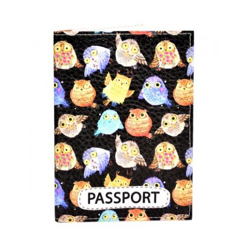 Покупка  Обложка для паспорта Совы 2 в  Интернет-магазин Zelenaya Vorona™