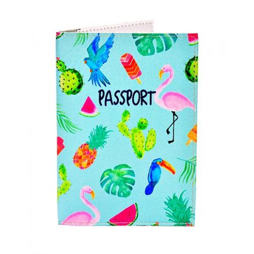 Покупка  Обложка для паспорта Тропики в  Интернет-магазин Zelenaya Vorona™