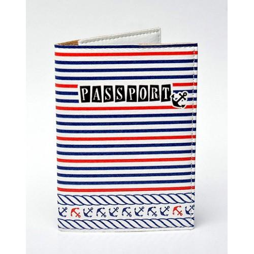 Покупка  Обложка для паспорта в морском стиле в  Интернет-магазин Zelenaya Vorona™