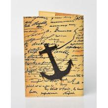 Обложка для паспорта Якорь