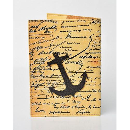 Обложка для паспорта Якорь  в  Интернет-магазин Zelenaya Vorona™ 1