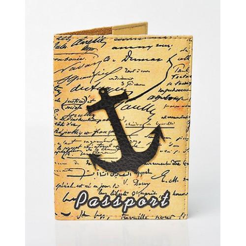Покупка  Обложка для паспорта Якорь в  Интернет-магазин Zelenaya Vorona™