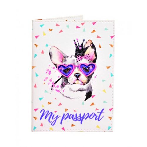 Покупка  Обложка для паспорта Живи ярко в  Интернет-магазин Zelenaya Vorona™